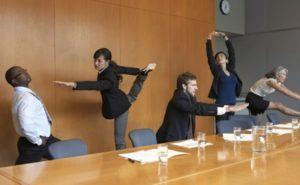 Йога на работе